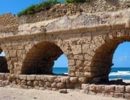 Roman Aquaduct, just north of Caesarea Maritima
