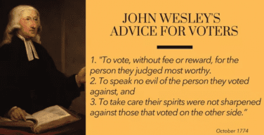 HUGE Advice for Voters Today from 1774
