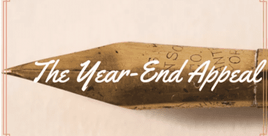 Writing That Year End Appeal – Part 1