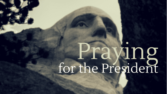 How to Pray for the New President