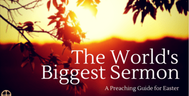 The World's Biggest Sermon