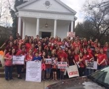 Guest Post: Kentucky Teacher Protests and an Anglican Church