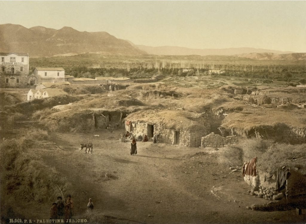 Image of Jericho from the 1890s
