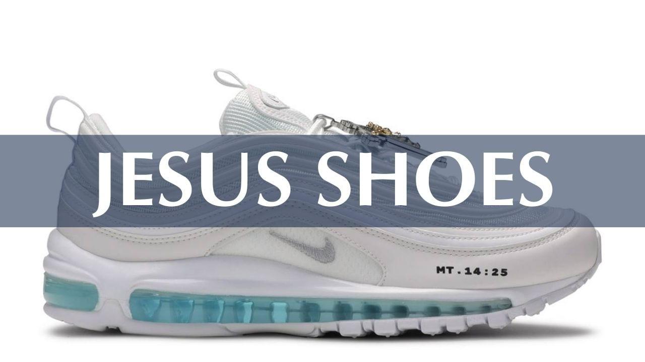 Jesus Sneakers and Walking in Israel