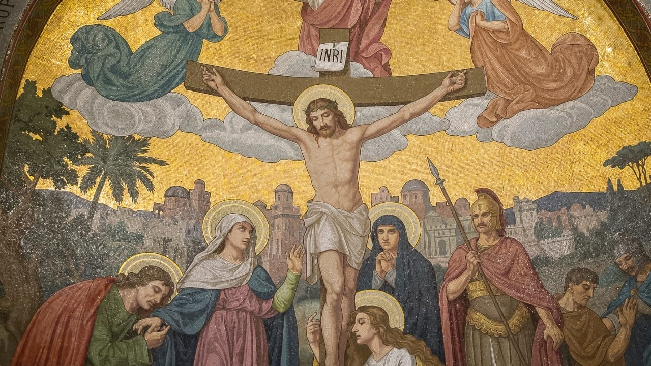The Psalm on the Cross